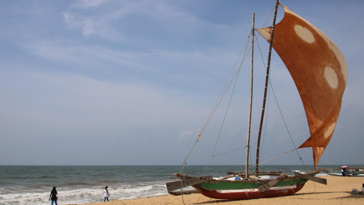 The coast at Negombo