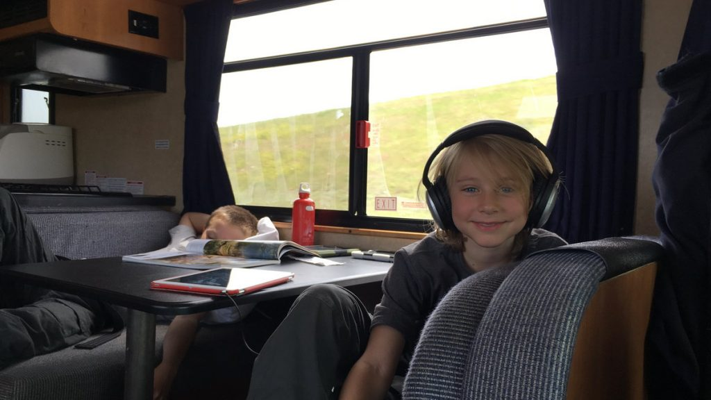 At ease in the RV