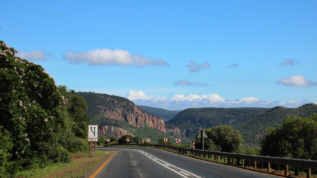 Driving north of Louis Trichardt