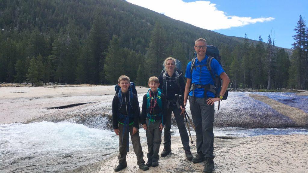 Hiking the Yosemite high country