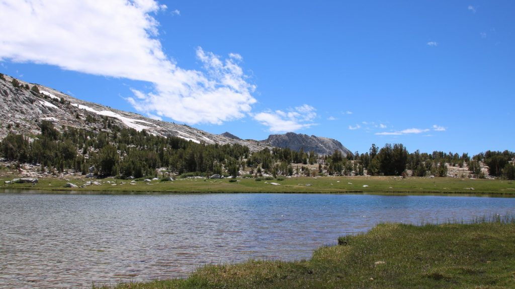 Lake in high country