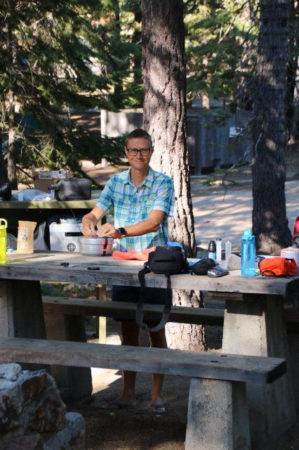 Cookin' at Lake Tahoe