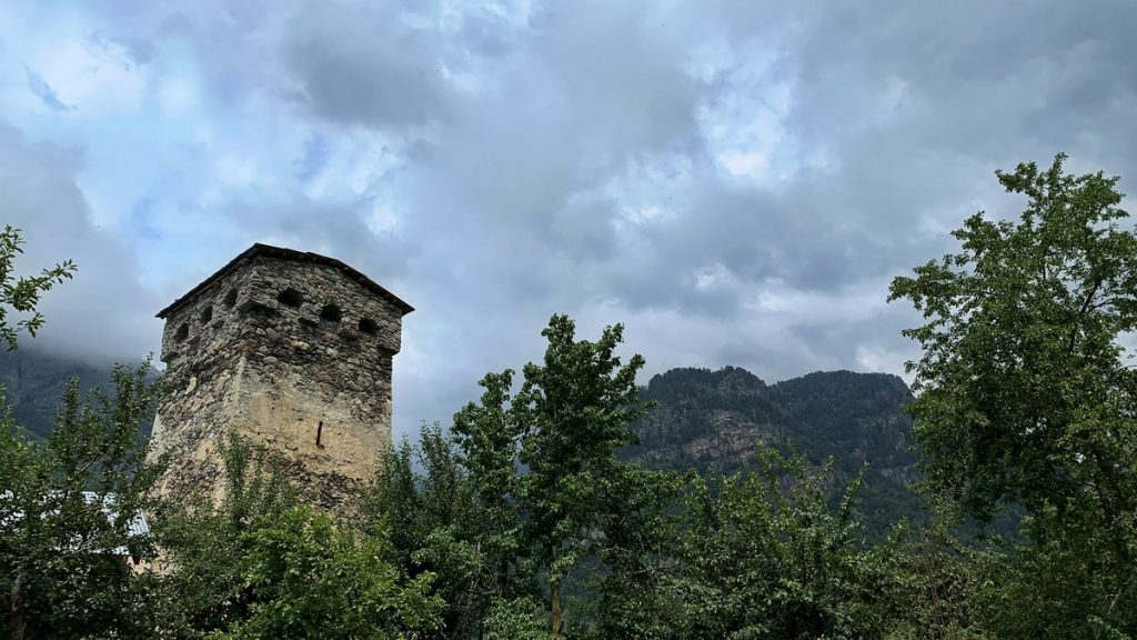 Svan tower in Adishi
