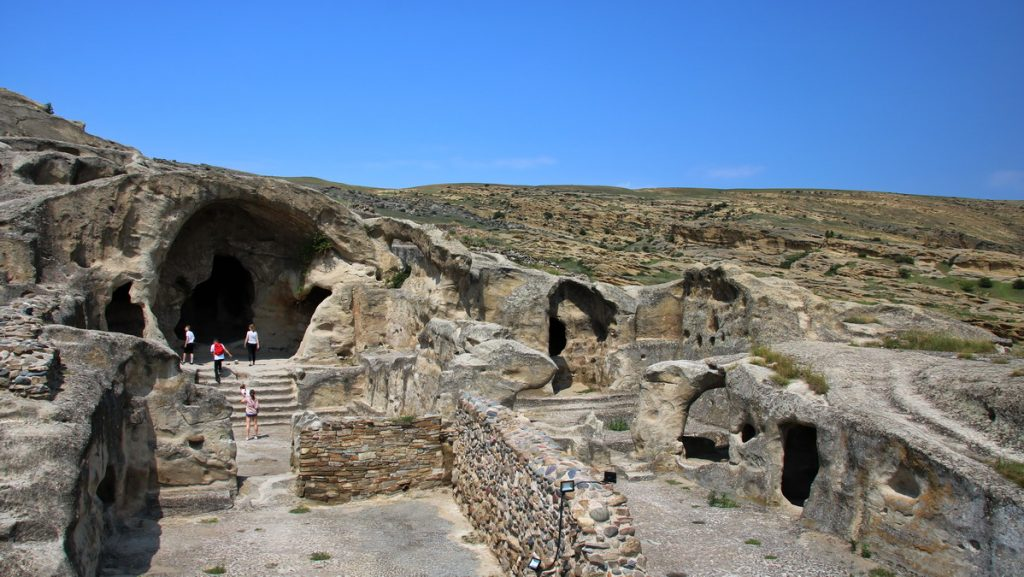 Ancient cave-city of Uplitshke