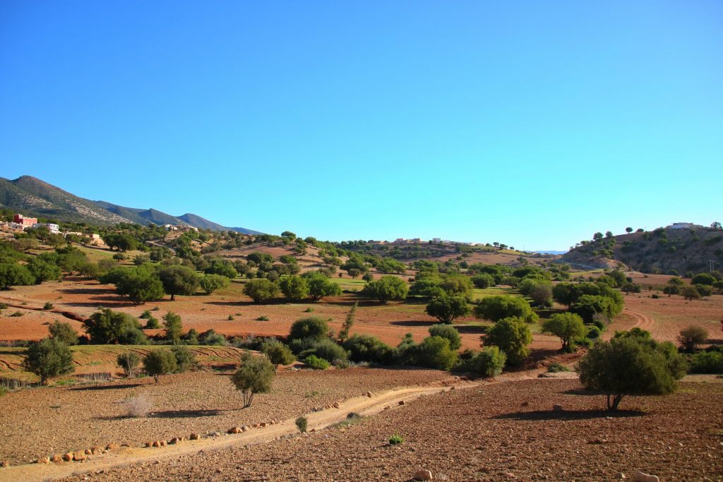 Southern Morroco landscape, one-week Southern Morocco road trip