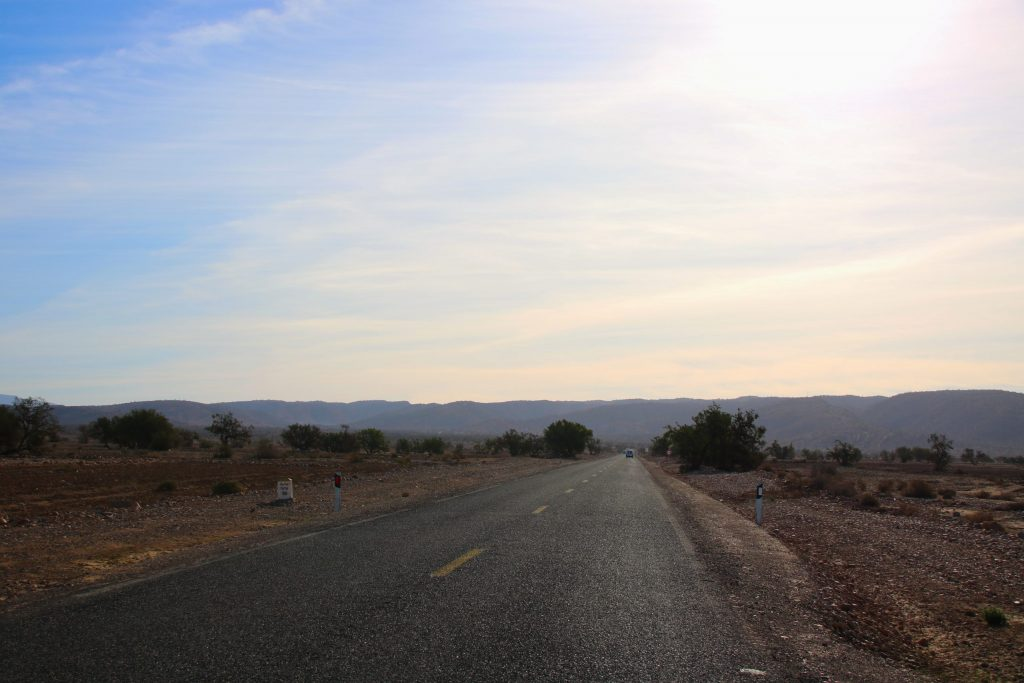 Road north of Taroudant, one-week Southern Morocco road trip