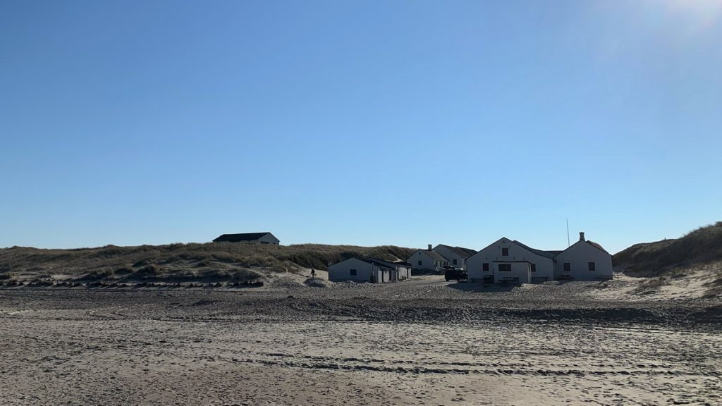 Stenbjerg coastal fishing historical site