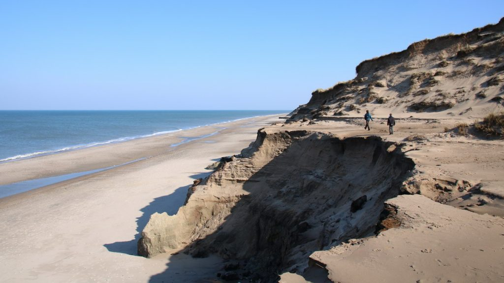 Steep dunes near Stenbjerg