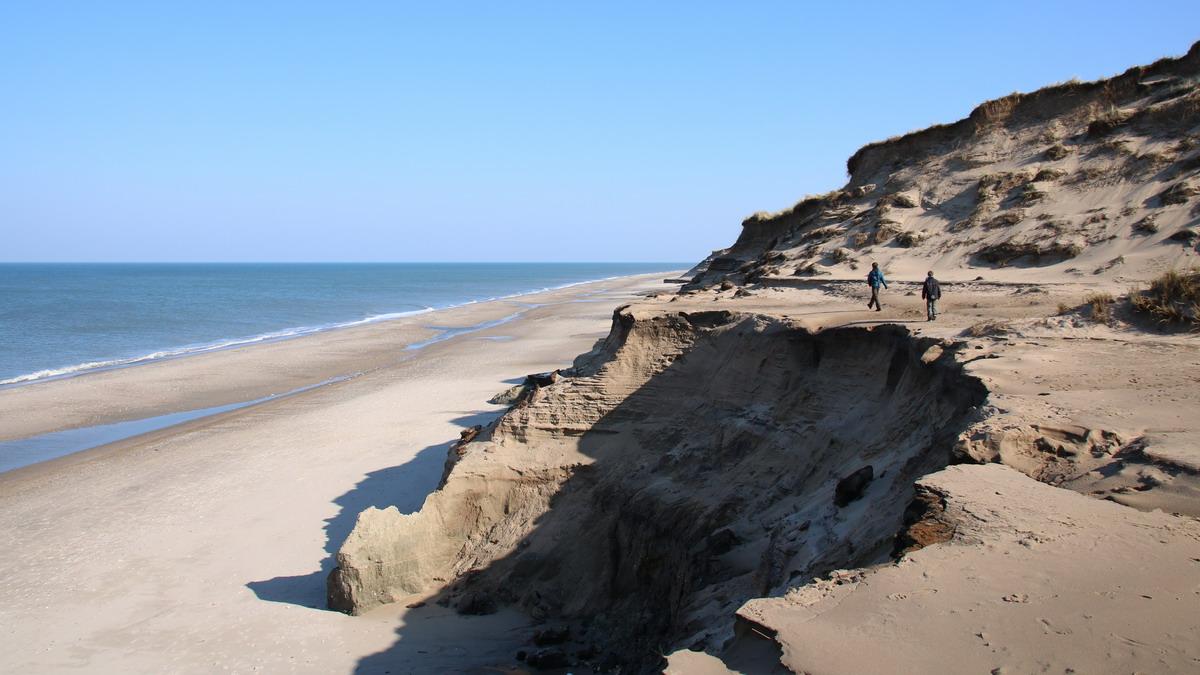 Steep dunes near Stenbjerg