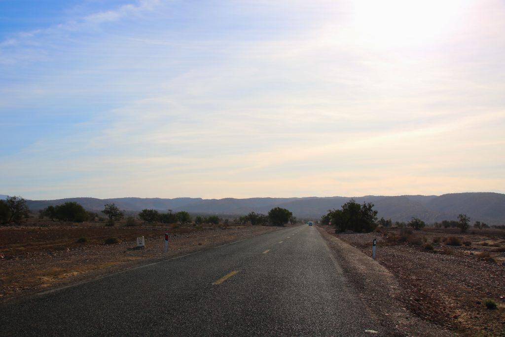 Road north of Taroudant