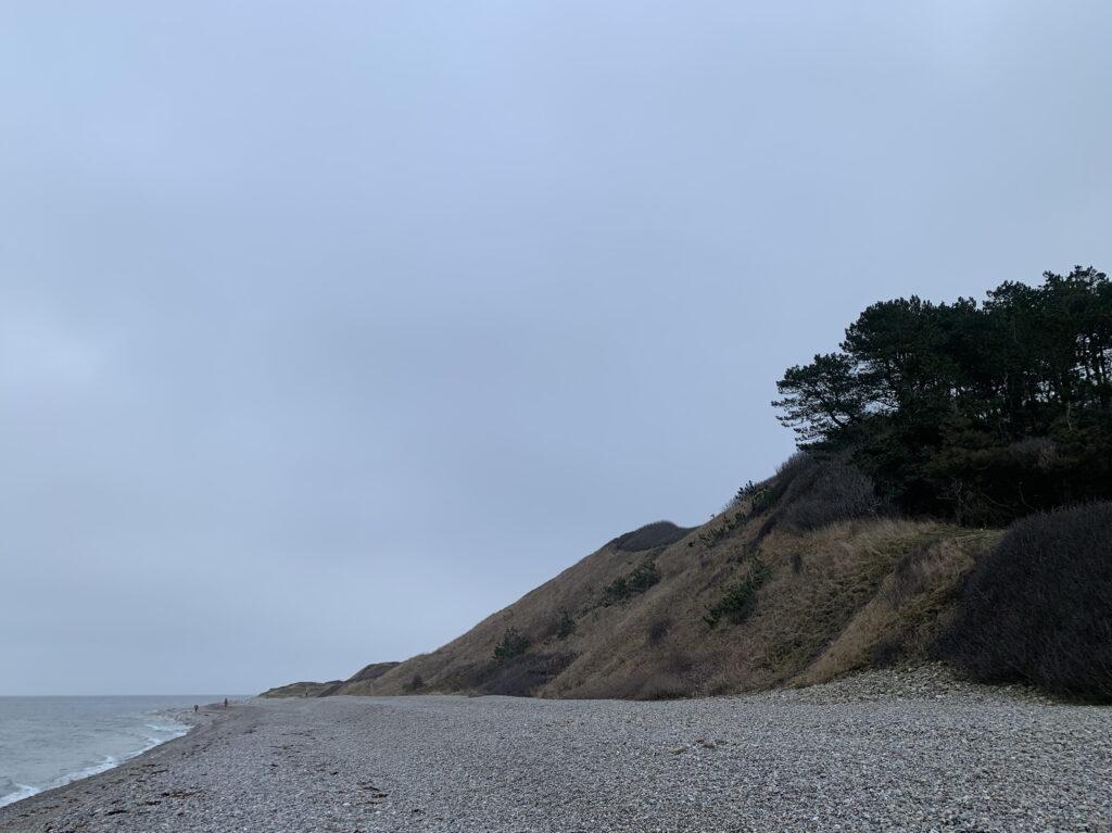 The beach near Klintebjerg