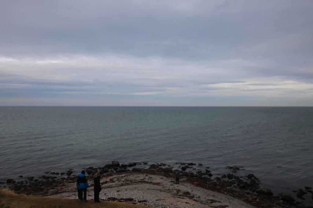 View from Gniben, the tip of Sjællands Odde