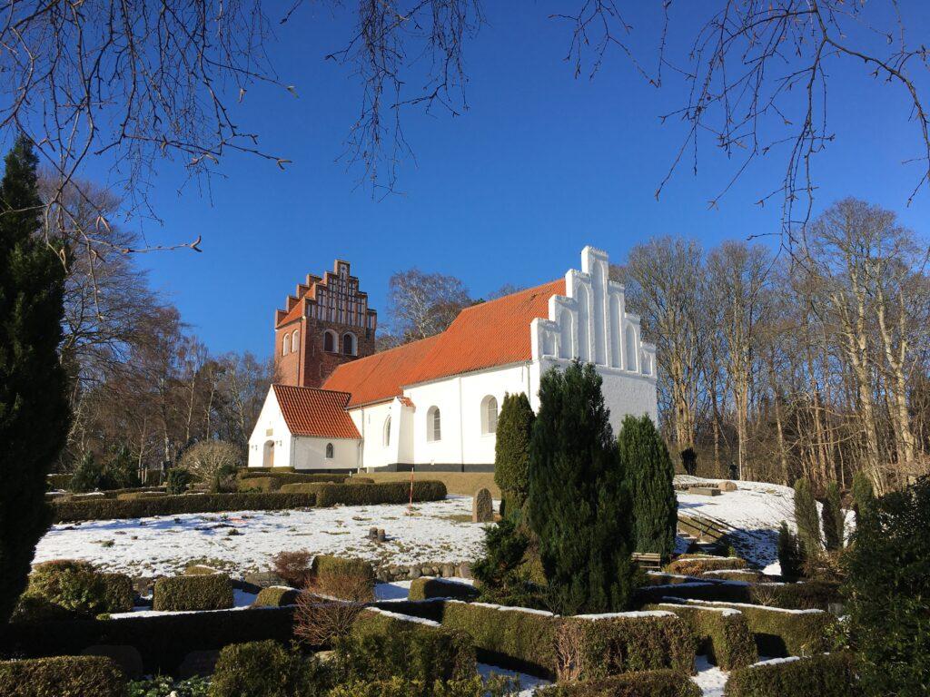 Tibirke church